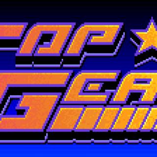 Top Gear (SNES) logo