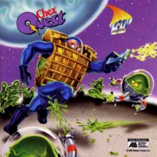 Chex Quest logo with art
