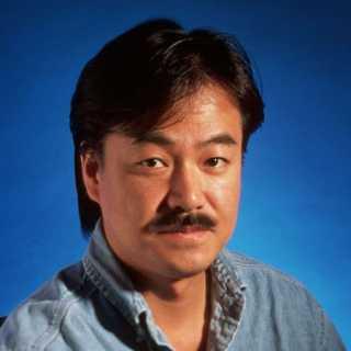 Hironobu Sakaguchi's mustache