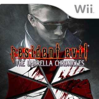 The US Boxart for Resident Evil: The Umbrella Chronicles