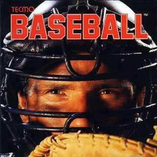 Tecmo Baseball Box Art
