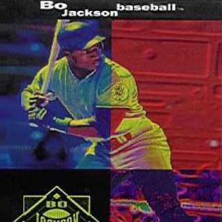 Bo Jackson Baseball Box Art