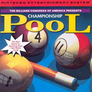 Championship Pool Box Art