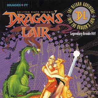 Dragon's Lair Box Art (NES)