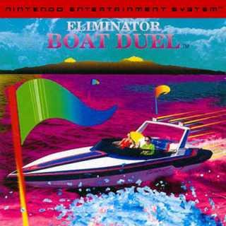 Eliminator Boat Duel Box Art (NES)