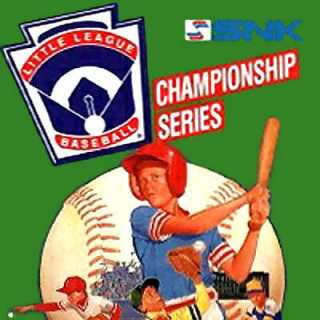 Little League Baseball Championship Series Box Art