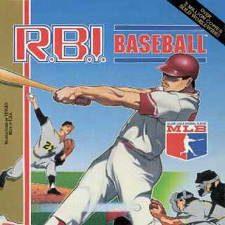 R.B.I. Baseball Box Art