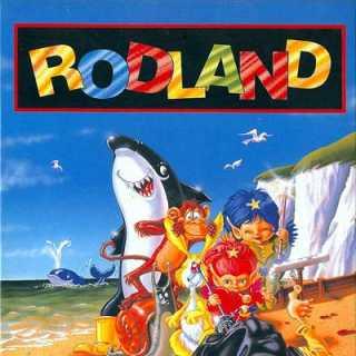 Rodland Box Art (NES)