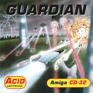 Guardian Box Art - Front (Amiga CD32)