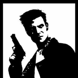 Max Payne logo for the first Max Payne game