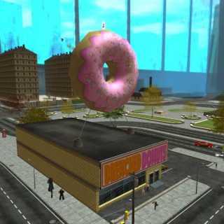 Giant Donut in Faultline