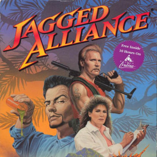 Jagged Alliance 1 - PC Box Art