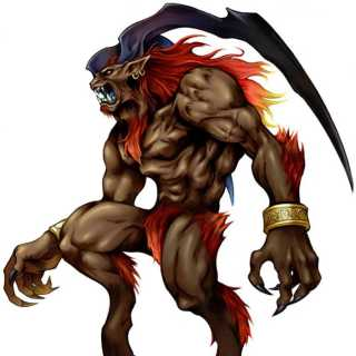 Ifrit art from FFXIII