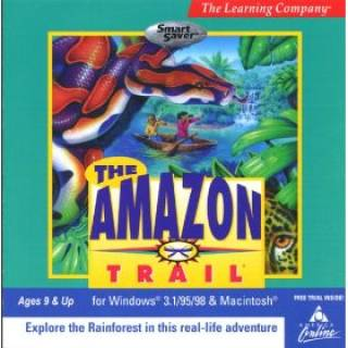 The Amazon Trail : First Edition box art