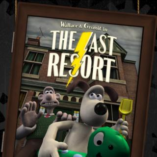 The Last Resort logo.