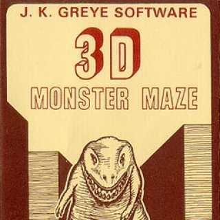 3D Monster Maze box art