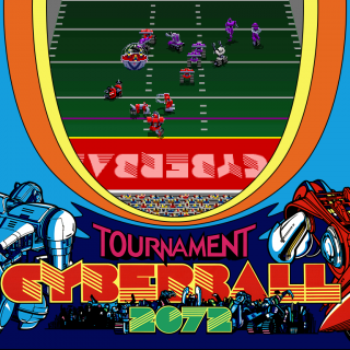 Tournament Cyberball 2072 marquee large