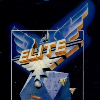 Elite original BBC Micro box art