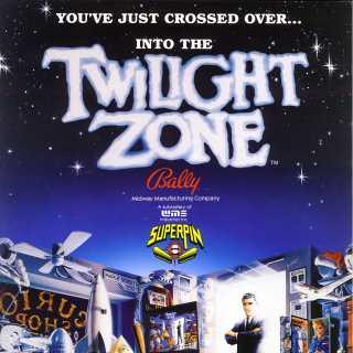 Flyer for Twilight Zone Pinball.