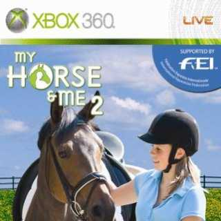 Front cover of My Horse & Me 2 (EU) for Xbox 360
