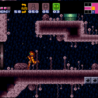 Backtracking in Super Metroid