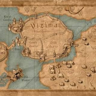 Map of Vizima