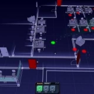 Screenshot of prototype mission
