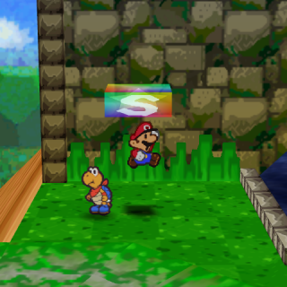 Save Point; Paper Mario