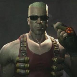 Duke Nukem likes himself a Cigar