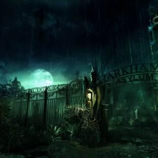 Arkham Asylum from outside