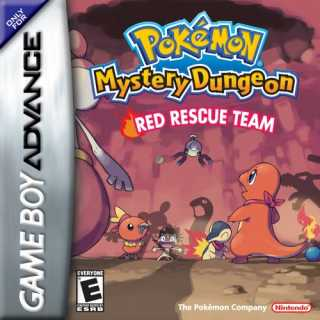 Pokemon Mystery Dungeon: Red Rescue Team Box Art