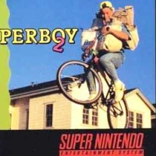 Front cover for the US SNES release of Paperboy 2.