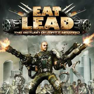 Neutral box art for Eat Lead: The Return of Matt Hazard