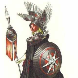 Pallas Athena of Soul Hackers.