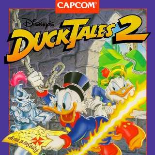 The Duck Tales 2 US Cover
