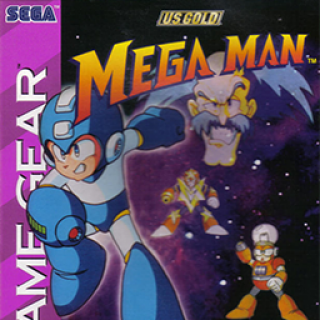 Mega man (gamegear) Box art