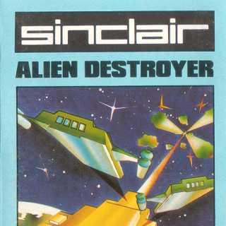 Alien Destroyer (Sinclair) UK Box Art