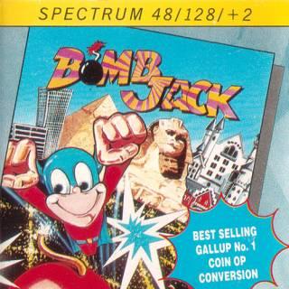 Bomb Jack (Encore) UK Box Art