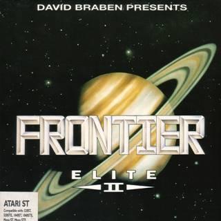 Frontier: Elite II UK Box Art