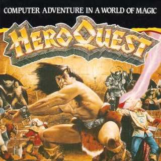 Hero Quest EU Box Art