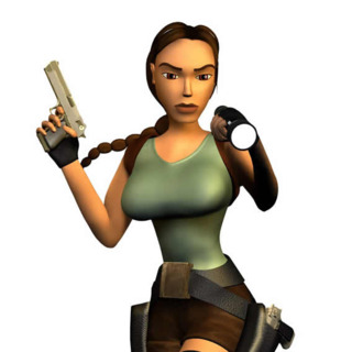 Lara Croft in a Tomb Raider: The Last Revelation promotional image