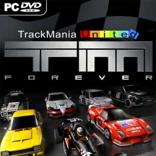 TrackMania United Forever euro box art