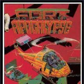 C64 Fort Apocalypse Box Art