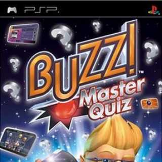 Front cover of Buzz! Master Quiz (US) for PSP