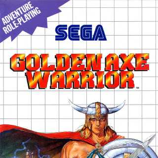 Front cover of Golden Axe Warrior (US) for SMS