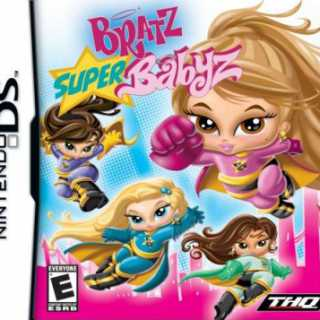 Front cover of Bratz: Super Babyz (US) for Nintendo DS