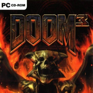 Front cover of Doom 3: Resurrection of Evil (UK) for PC