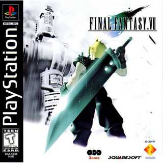 Front cover of Final Fantasy VII (US) for PlayStation