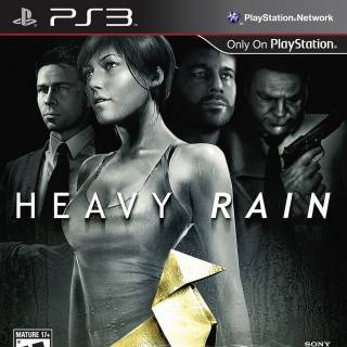 Front cover of Heavy Rain (US) for PlayStation 3