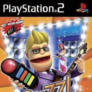 Front cover of Buzz! Pop Quiz (EU) for PlayStation 2